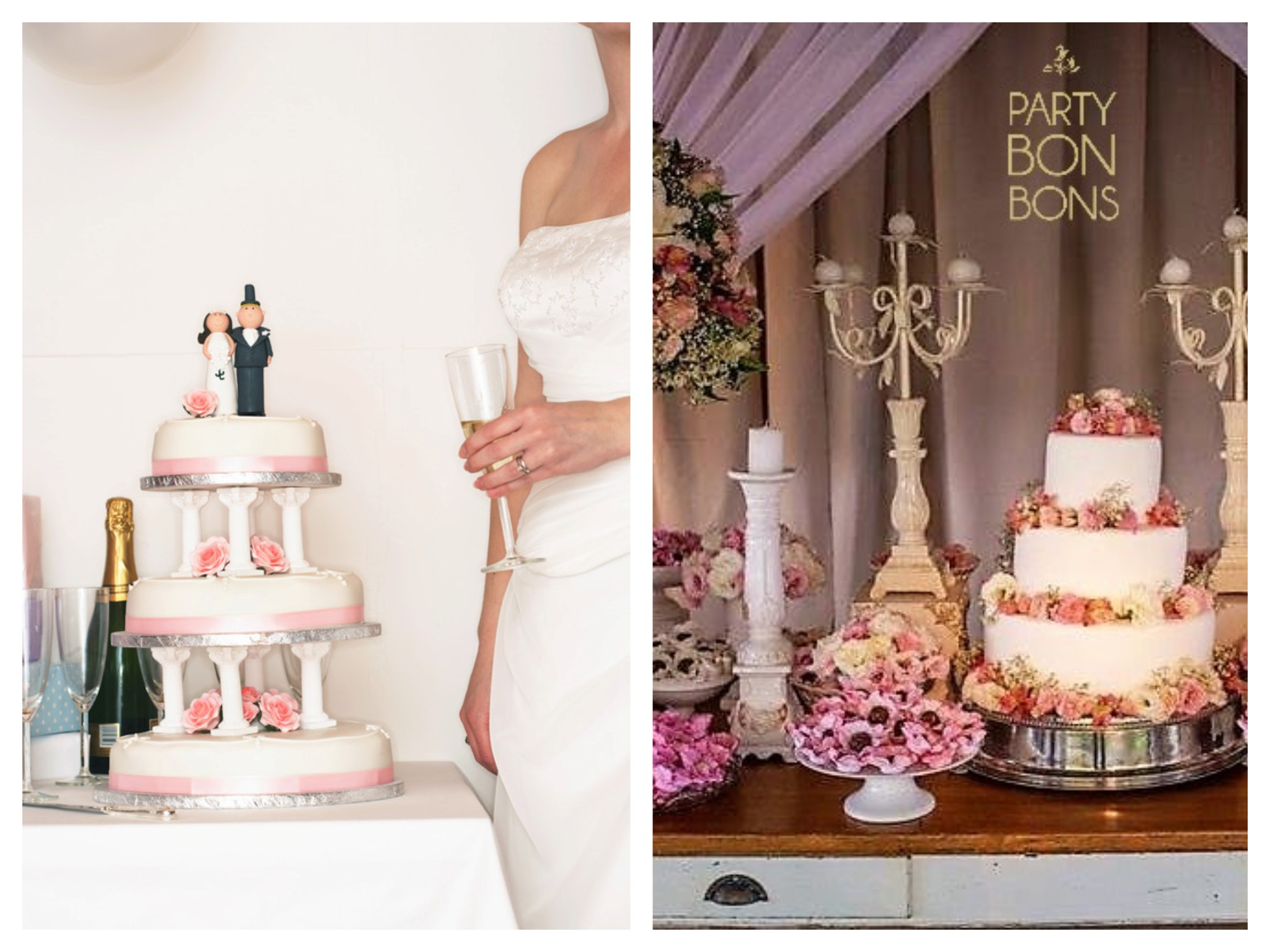 Wedding Cake Table - Prefer Simple to Elegant?